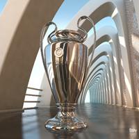 3d champions league cup