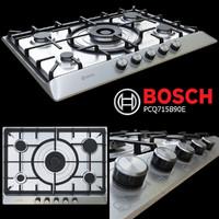 3d model hob bosch pcq715b90e