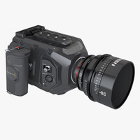 Blackmagic URSA Mini Movie Camera