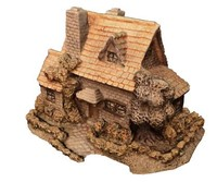 medieval stone cottage dxf