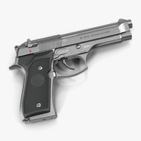 3d semi automatic pistol beretta 92f model