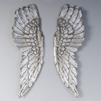 wings wall decor obj