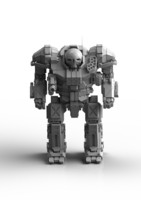 3d model mechwarrior atlas