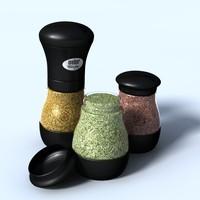 3d model weber spice grinder