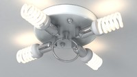 lamp meshsmooth light 3d model