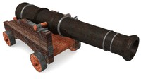 gric war cannon 3d model