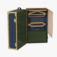 max steamer wardrobe trunk