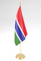 3d office flag model