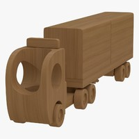 wooden toy truck 3ds