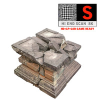 Ancient Broken Stone