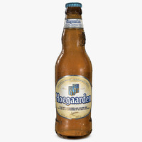 hoegaarden beer bottle 3ds
