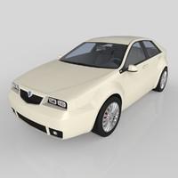 3d lancia delta 2016 model