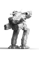 3d model mechwarrior marauder print