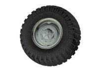 wheel truck ural 4320 3d model
