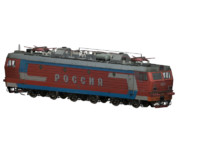 russian locomotive vl65-013-russia 3d model