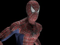 3d spiderman spider man model