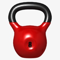 3d kettlebell lightwave model