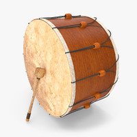 turkish drum 3d model