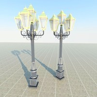 lampposts street lamp COLLECTION