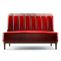 3d model holborn dining lounge sofa