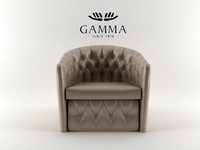 3d model gamma ginger chair