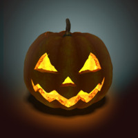 modeled pumpkin 3d model