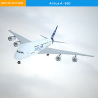a-380 polygonal 3d 3ds