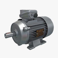 3d max electric motor