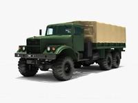 truck 255 kraz 3d max