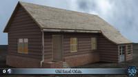Old Rural Cabin