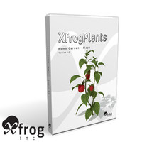 3d model plants xfrogplants home garden