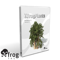 3d model 3 oceania trees xfrogplants