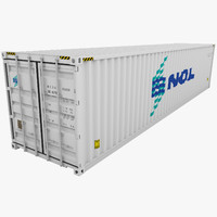 NOL Shipping Container