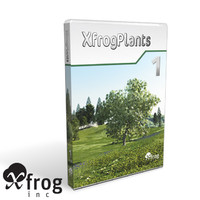 3d xfrogplants 1 plant flowers