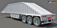 dump trailer 2 3d max
