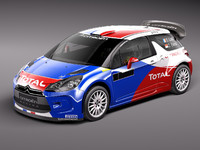 3ds citroen ds3 rally car