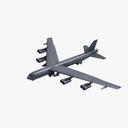 Boeing B-52 Stratofortress 3D models