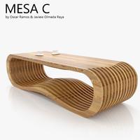 3d max mesa c coffee table