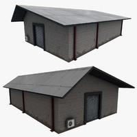 3d realistic building