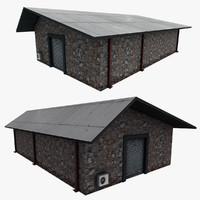 3d model realistic building