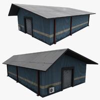 3d 3ds realistic building
