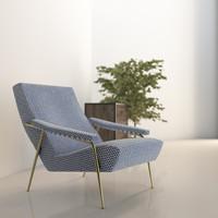 3d molteni armchair