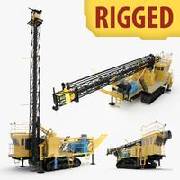 rigged drilling machine max