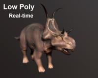 3d diabloceratops model