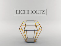 eichholtz table asscher 3d max