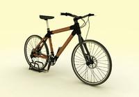 bamboo bike 3d max