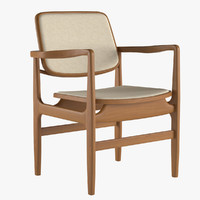 armchair linbrasil 3d model
