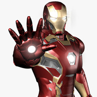 obj iron man avengers mark