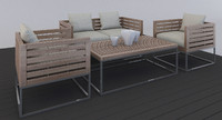 3d outdoor furniture model