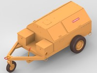 utility cart 3d model